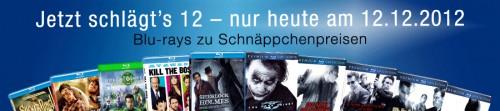 Ein Tages Aktion bei Amazon: Viele Blu-rays schon für 7,77 € - z.B. Inception oder Gran Torino