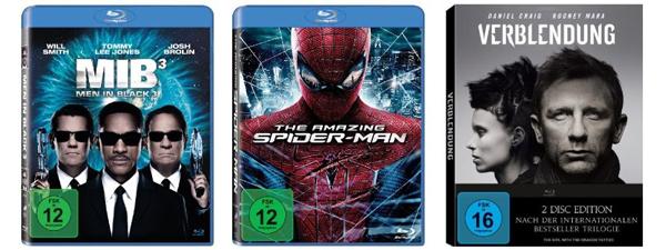 Blu-ray-Angebote bei Media Markt & Konter von Amazon - z.B. Der Pate für 30 € oder Herr der Ringe Trilogie für 50 €