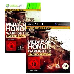 Medal of Honor: Warfighter (PS3 + XBox 360) für 25 Euro statt 35 Euro