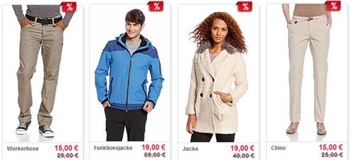 Sale bei C&A mit bis zu 50% Rabatt auf viele Artikel aus der Winterkollektion