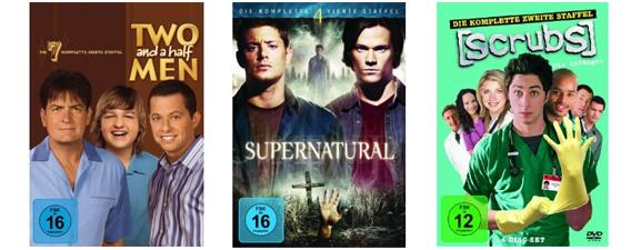 Gute Filmangebote bei Amazon - z.B. Action Blu-rays für 8,97 € oder TV-Serien-Staffeln unter 10 €