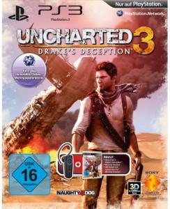 Uncharted 3 + Sony Wireless Headset (PS3) für 19,99 € statt 46 €! *Update* Wieder da!