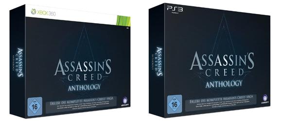 Assassin's Creed Anthology Edition für 106 € statt 156 € *Update* jetzt für 56,62 € bei Amazon UK