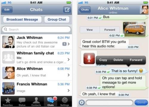 WhatsApp Messenger kostenlos für iPhone herunterladen