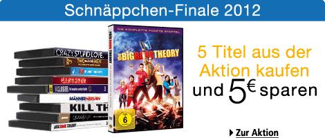 5 Tage Filmschnäppchen bei Amazon - z.B. Blu-rays ab 7,97 € der 2 TV-Serien für 18 €