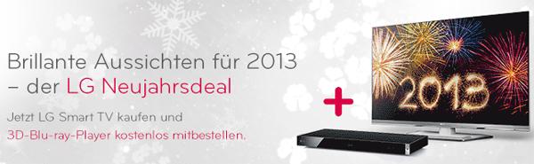 LG 42LM669S (3D, Triple-Tuner, Smart TV) + 3D Blu-ray-Player für 765 € bei Amazon