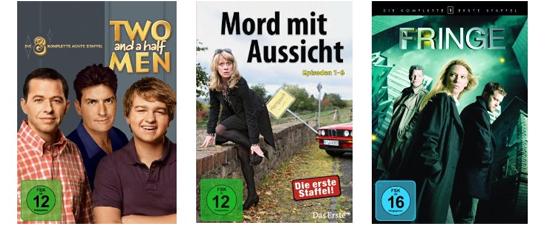 Filmangebote bei Amazon - z.B. 2 TV-Serien für 20 € oder Blu-ray-Neuheiten ab 9,97 €
