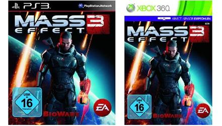 Mass Effect 3 (PS3/Xbox 360) für 19,99 € bei Amazon *Update* Xbox-Version jetzt auch für nur 15,99€