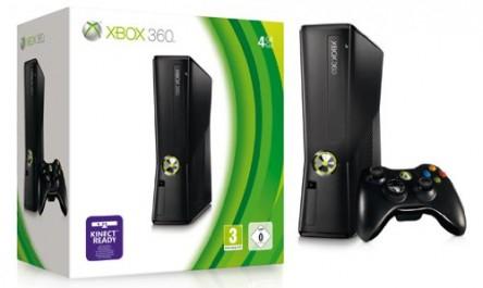 Xbox 360 Slim (250 GB) für 179 € bei Amazon + 20 € Rabatt auf ausgewählte Spiele