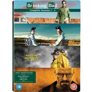 Serien-Box: Breaking Bad Season 1 bis 4 für 46 € bei Amazon.co.uk