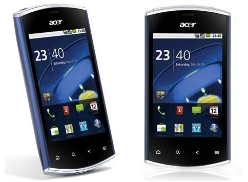 Einsteiger-Smartphone Acer Liquid Mini für 66€ statt 89,90€