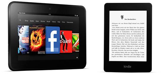Amazon: bis zu 50 € Rabatt beim Kauf eines Kindles oder Zubehör mit der Amazon Kreditkarte