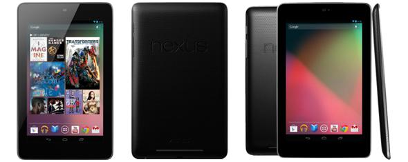 Google Nexus 7 (32 GB, WiFi) für 229,50 € bei MeinPaket