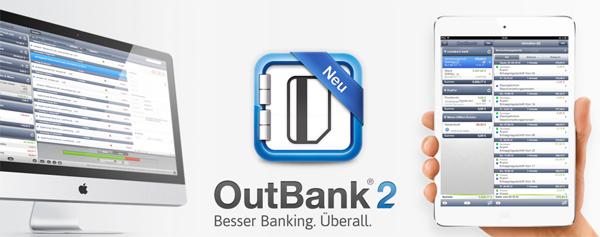 Banking-App OutBank 2 bis Ende Januar für 1,79 € (iOS) oder 8,99 € (Mac)