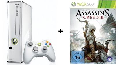 Xbox 360 White Limited Edition für 137,93 € + zusätzlich 20 € Rabatt auf ein Spiel *Update*