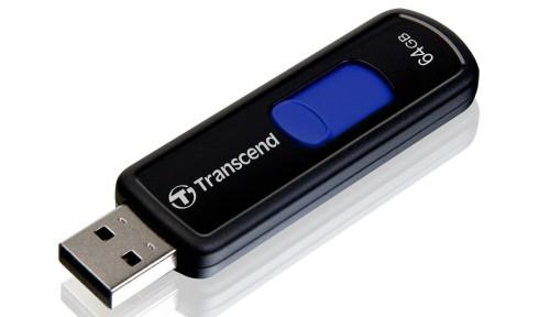 USB-Stick Transcend Jetflash 500 mit 64 GB für 27,86 € - 25% Ersparnis