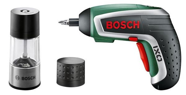 Akkuschrauber Bosch IXO Spice mit Gewürzmühle für 39,90 € *Update* jetzt 17% sparen