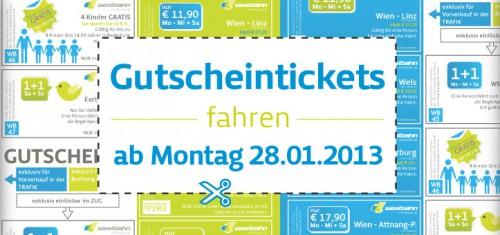 Westbahn: mit Gutscheinen bis 23. März sparen - z.B. Linz - Wien um 11,90 € statt 17,20 €