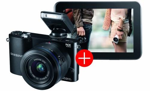 Systemkamera Samsung NX1000 mit 20-50 mm Objektiv für 199 € statt 239 € *Update*