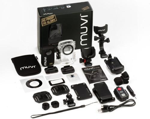 1080p-Action-Kamera Veho MUVI HD mit viel Zubehör für 155,90 € *Update* jetzt für 145,90 €