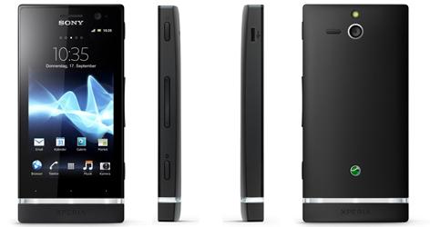 Android-Smartphone Sony Xperia U für 129 € - 20% Ersparnis