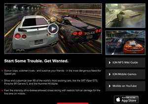 Need for Speed: Most Wanted (iOS) kostenlos durch Gutscheincode