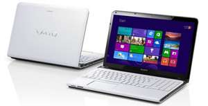 Multimedia-Notebook Sony VAIO SVE1512Q1 (Core i5, 4 GB RAM, 640 GB HDD) für 579 € statt 684 €