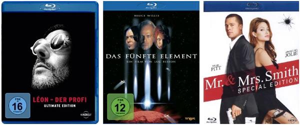 Filmangebote bei Amazon - z.B. 2 TV-Serien-Staffeln für 18 € oder Action-Blu-rays um je 8,97 €