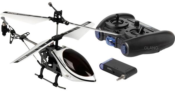 Ferngesteuerter Helikopter fun2get i-helicopter mit iPhone- und Android-Steuerung für 19,99 €
