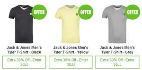 30% Rabatt auf Jack & Jones-Artikel bei Zavvi