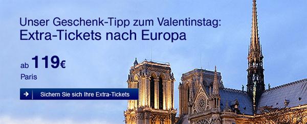 Günstige Europaflüge mit Lufthansa - 1 Million Extra-Tickets ab 99 €