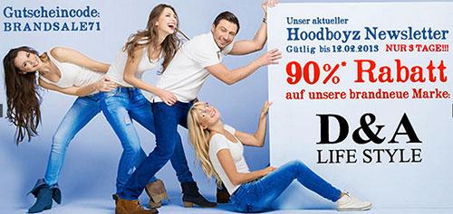 """Wieder 93% Rabatt bei Hoodboyz - dieses Mal auf die Marke """"AR-MA"""" *Update*"""