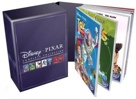 [DVD] Die Ultimative Pixar-Box (10 DVDs) ab 50€