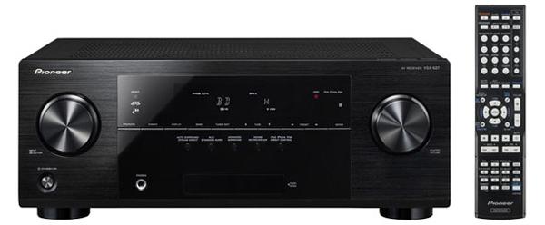 5.1 AV-Receiver Pioneer VSX-527 (3D, AirPlay, Webradio) für 212 € - 14% Ersparnis
