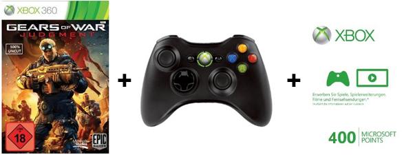 Gears of War: Judgment (Xbox 360) ab 64,99 € vorbestellen und Controller + 400 XBL-Punkte gratis