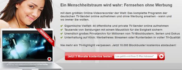 Online-Videorekorder Save.tv XL jetzt 3 Monate kostenlos testen *Update* jetzt wieder möglich!
