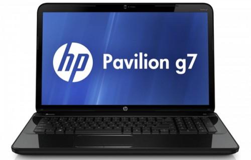 Multimedia-Notebook HP Pavilion g7-2223sg für 579 € statt 679 €