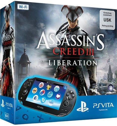 PlayStation Vita + Assassin's Creed III + 4 GB Speicher für 164,97 € & 15 € Rabatt auf ein Spiel