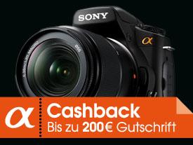 [Cashback] Sony DSLR Alpha 700 Cashback Aktion