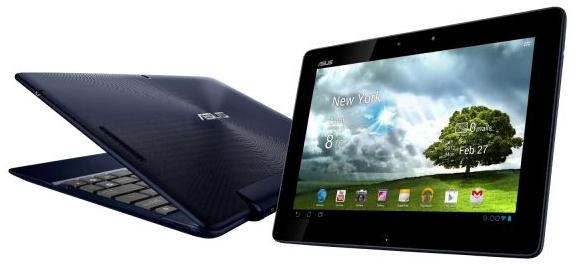 Android-Tablet Asus Transformer Pad (16 GB, UMTS) + Dockingtastatur für 399,99 € - 16% sparen