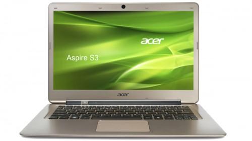 "Ultrabook Acer Aspire S3-391-33214G52 (13,3"", Core-i3, 4 GB RAM) für 455 € - 18% sparen"