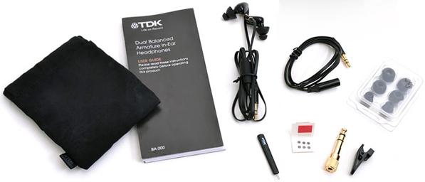 In-Ear-Ohrhörer TDK BA200 High Fidelity für 85,90 € bei iBOOD - 56% Ersparnis