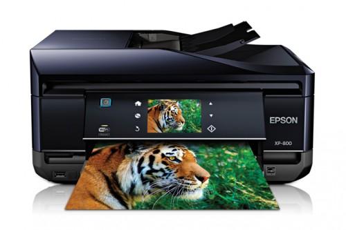 WLAN-Multifunktionsdrucker Epson XP-800 um 149€ - 14% Ersparnis