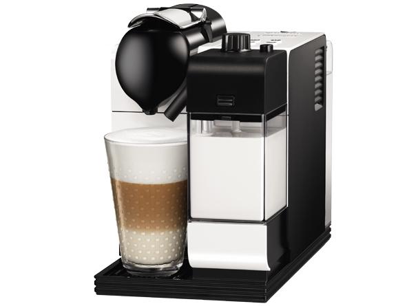 De'Longhi EN 520.S Nespresso Lattissima + Milchschaum-System Ice Silver für 169,99€ - 19% sparen