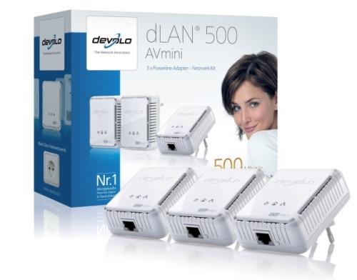 Devolo dLAN 500 AVmini Network Kit bei Amazon für 99€ *Update* jetzt für 82,89 € - 29% sparen