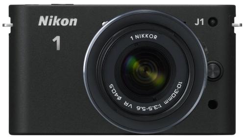 Nikon 1 J1 digitale Systemkamera + Nikkor VR 10-30 mm Objektiv für 224,42€ - 25% Ersparnis