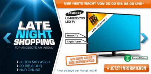 Saturn Late Night Shopping ab 20 Uhr - z.B. mit iPad 4 (Retina Display, Wi-Fi, 16GB)
