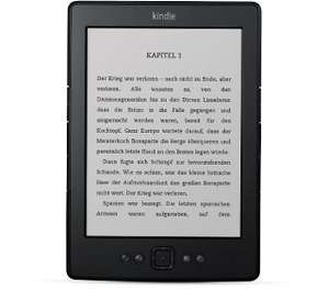 Amazon: 15 € Rabatt auf fast alle Kindle-Modelle - z.B. Kindle 4 für 64 €