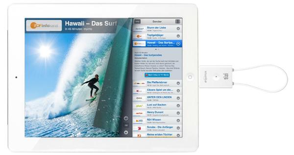 equinux tizi go – DVB-T-Empfänger für iPad und iPhone für 49,99 € - 38% Ersparnis