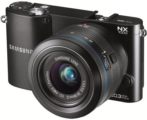 Systemkamera Samsung NX1000 für 222 € bei Media Markt Österreich - 19% Ersparnis